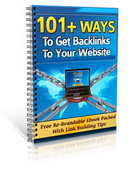 Ebook Review: 101+ Ways to Get Backlinks to Your Website
