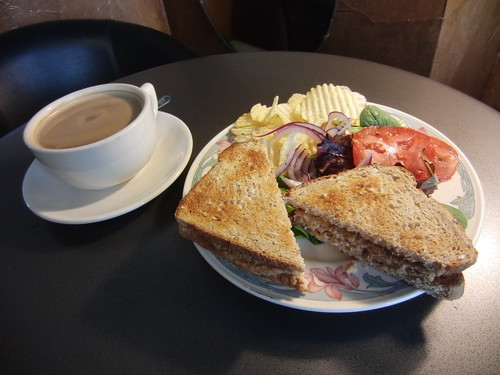 Soy Mocha & Veggie Sandwich From Gypsy Coffee House - Tulsa, OK
