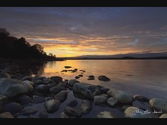 Moon_timelapse (May Elin Aunli) Tags: sunset moon norway reflections norge haseltangen