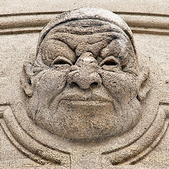 The Monday Face (NRG Photos) Tags: face gesicht hoteldeville ugly townhall gurning arras hsslich fratze mondayface montagsgesicht