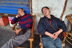 1798 miles since (lille abe) Tags: china street sleeping men nikon nap afternoon chengdu 28 teahouse micha nikkor1755mm chengdoo pachniewski