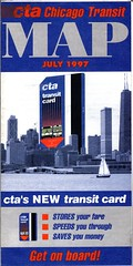 July, 1997 CTA map (fotoflow / Oscar Arriola) Tags: old original summer usa chicago bus history america train vintage out subway design us illinois cta map united authority july historic il ephemera collection american printing transportation transit 1997 states fold printed folding foldout