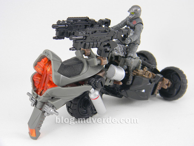 Transformers Backfire DotM Human Alliance - modo arma MechTech