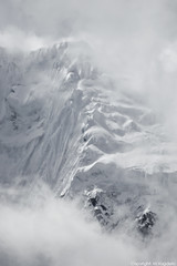 Snow and clouds (cokanj) Tags: winter mountain snow cold peru southamerica fog nikon d70s glacier andes salkantay mvugdelic