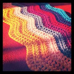 Work In Progress (zooivlooi) Tags: color colors ripple crochet blanket attic24