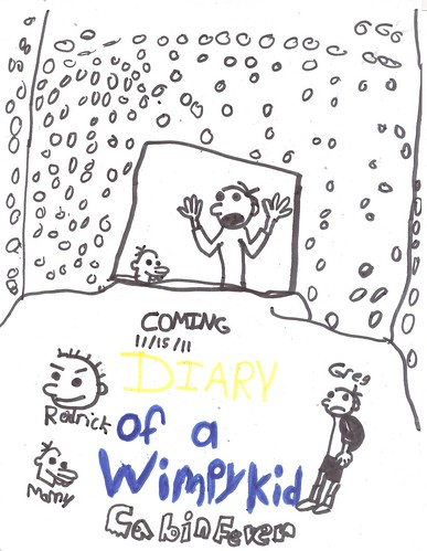 wimpy kid cabin fever poster