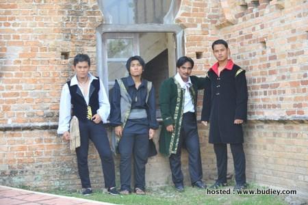 Adam Shah, Hafiz Halim, Hilal Azman & Aidil Aziz
