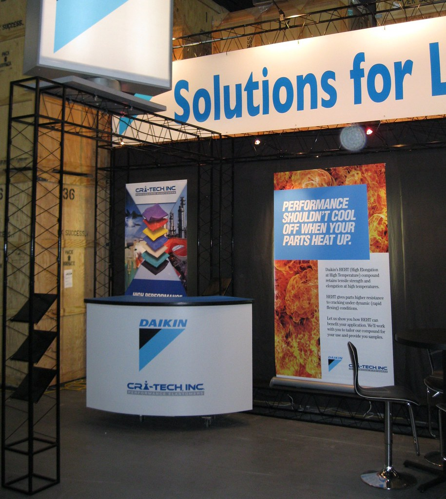 Daikin Truss Trade Show Exhibit
