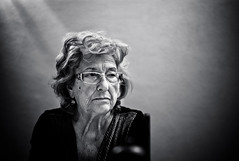 A., widow, 89 years old (Gerald Verdon) Tags: leica portrait bw copyright woman face sad expression availablelight rangefinder fav20 nb age elder m8 widow fav30 nokton gettyimages verdon fav10 fav40 geraldverdon