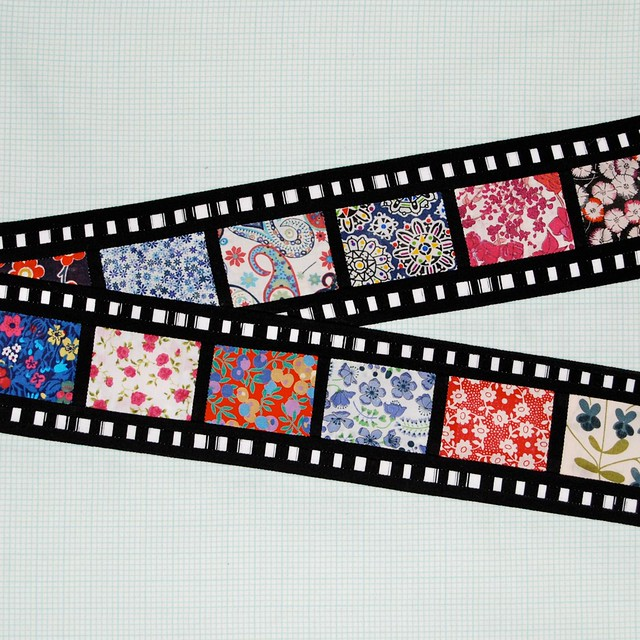 Liberty film strip for Amy Badskirt
