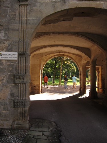 under french archway by Danalynn C