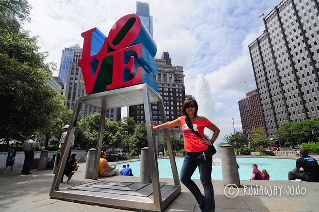 Philly Juno Love Statue