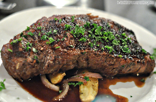 New York Strip at First Course ~ Minneapolis, MN