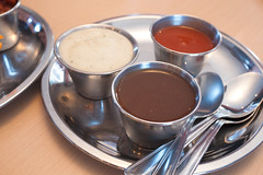 Yogurt Sauce, Red Sauce, Tamarind Sauce @ Tiffin