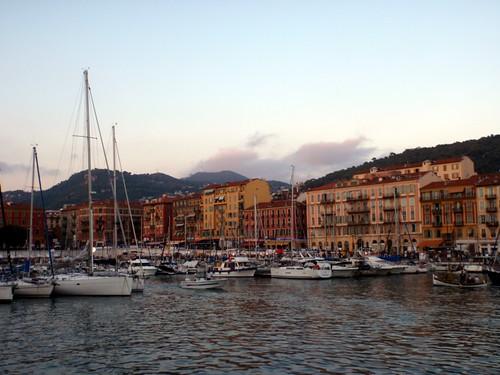 Le vieux port de Nice