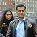 Salman Khan The Bollywood actor is filming scene's on the 1st day of the film 'Ek Tha Tiger' Dublin, Ireland