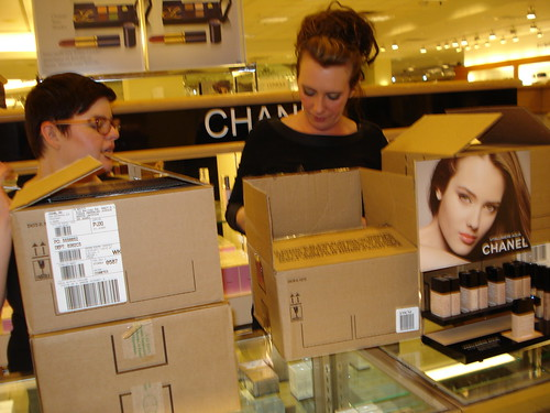 Unpacking Chanel!!!