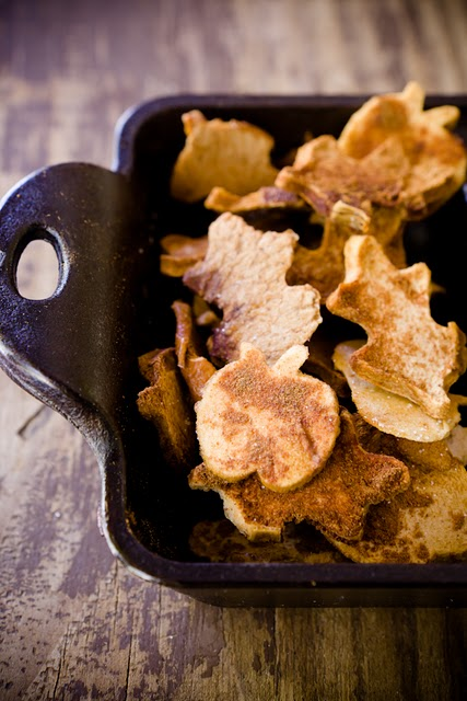 7 CupcakeProject-Apple Baked Chips Cinnamon Fall Idea