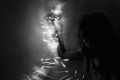 Chaos.. (dream_maze) Tags: selfportrait motion dark lights code movement static noise selfie decipher arrange