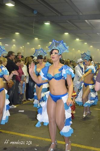 candombe y colores; azules