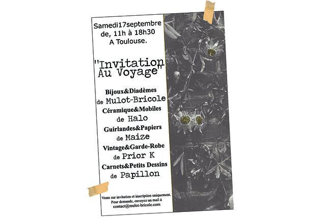 Visuel Invitation au voyage -  Mulot