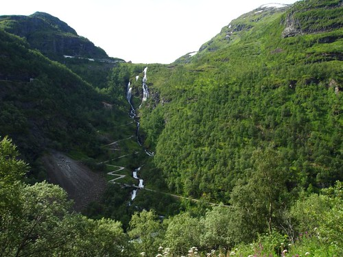 Path from Myrdal to Flåm