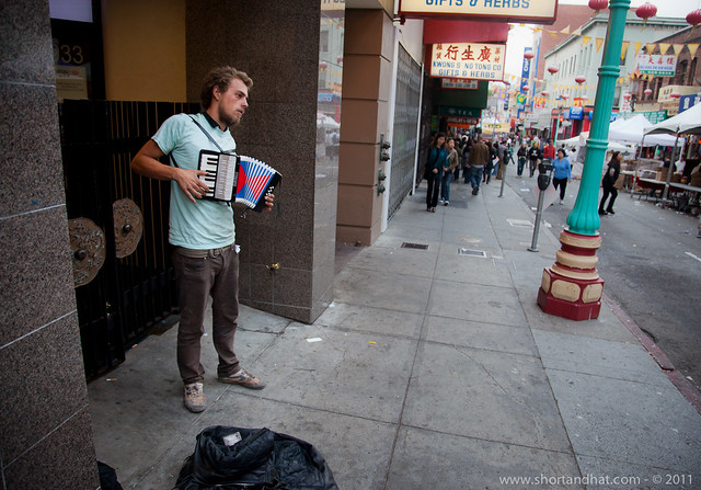 Chinatown musician
