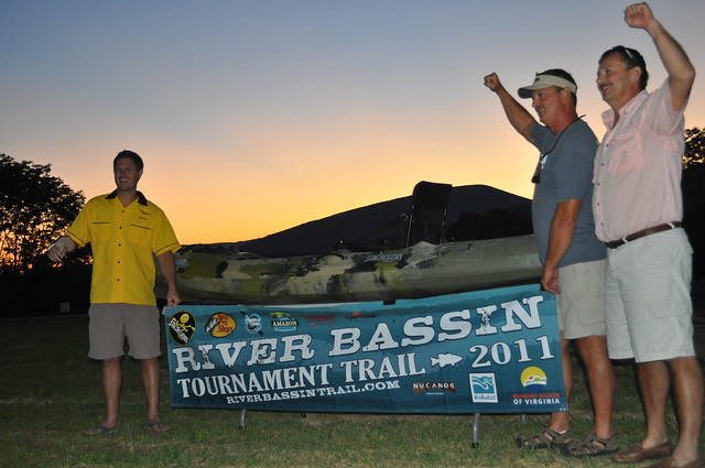Tim and Greg Perkis win on the river bassin tournament trail!