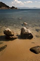 Amouliani.Karagatsi (Vasilis Mantas) Tags: sea summer bw art beach canon island photography rocks 110 greece nd l 1740 chalkidiki 500d 2011 karagatsi amouliani vmantas vmantasphotography