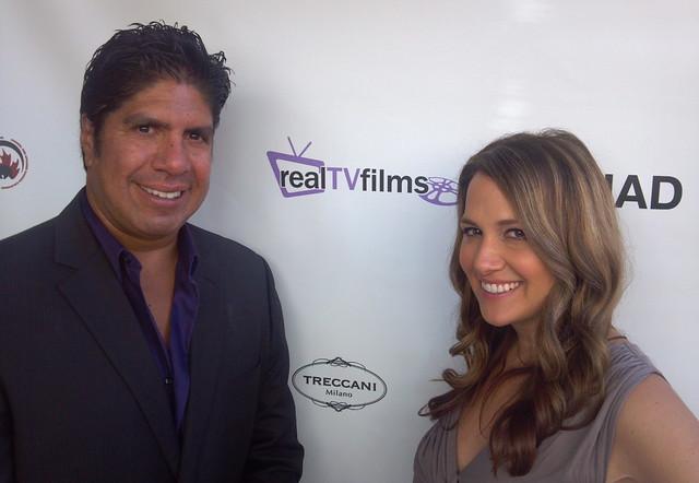 Gordon Vasquez, Meredith Spira, RealTVfilms Social Media Lodge, TIFF 2011