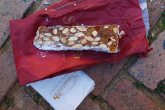 Panforte Margherita (ALifeWorthEating) Tags: italy tuscany siena panforte panfortemargherita