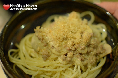 Pepita's Kitchen Pinoy Carbonara