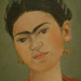 Frida Kahlo, Frieda and Diego Rivera with detail of Kahlo