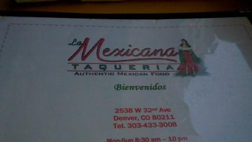 Delicious Mexican food