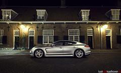Porsche Panamera S Hybrid.. (Luuk van Kaathoven) Tags: night s porsche van hybrid luuk panamera autogetestnl luukvankaathovennl autogetest kaathoven