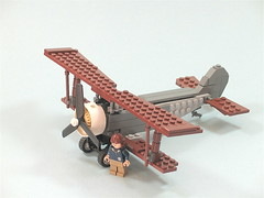 Nieuport 17 WIP ([DustyBricks]) Tags: french lego 17 ww1 biplane nieuport fokkerscourge
