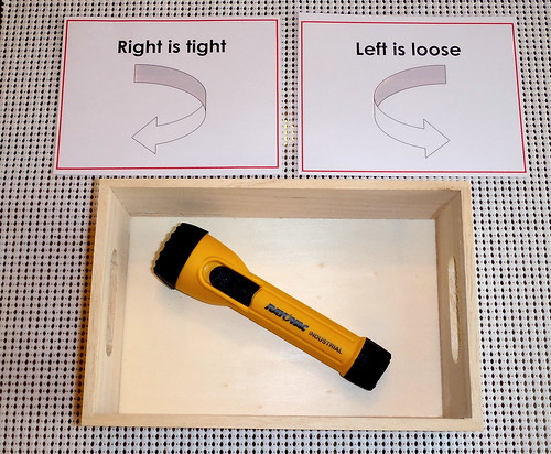 Flashlight Assembled (Photo by John Bowman from Montessori at Home)