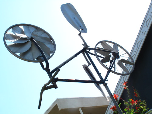 Bike Weathervane