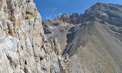 Alpinismo Gran Sasso - via dei Triestini