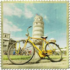 La bici de Pisa (osolev) Tags: italy bike bicycle vintage europa europe italia bicicleta pisa bici toscana velo italie textured ltytrx5 ltytr1 osolev tatot flickraward flickraward5