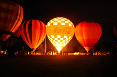 Gaslight JTown Balloon (Tekkon C) Tags: hot glow air balloon gaslight jtown