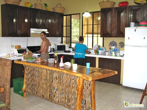 sunzal beach el salvador vacation rental kitchen