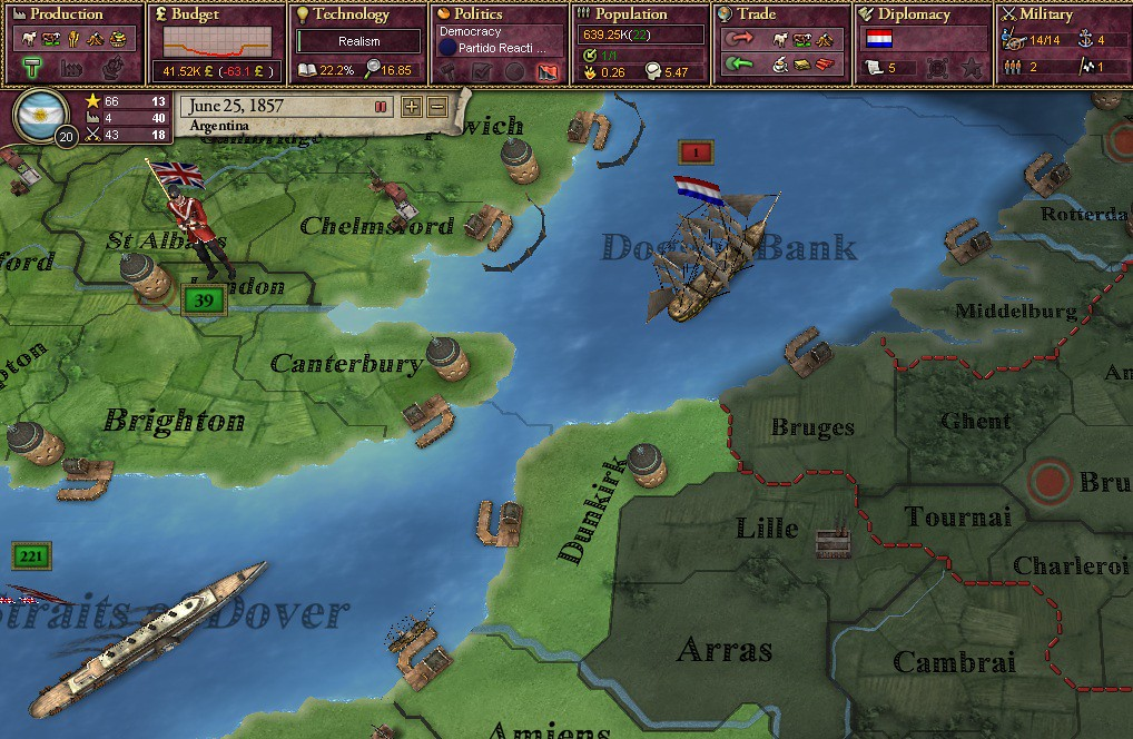 Last Tango in 1 3 - An Argentine AAR | Paradox Interactive Forums
