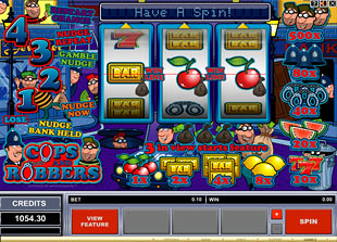 online casino no deposit sign up bonus cops and robbers slot