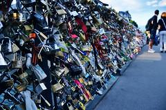 love locks (Noran.A.S) Tags: bridge paris france love here locks past flicker