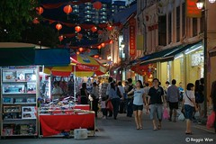 Smith Street in Chinatown Singapore. (Reggie Wan) Tags: city tourism night evening singapore asia southeastasia chinatown cityscape smithstreet streetscene asiancity reggiewan sonya850 sonyalpha850 gettyimagessingaporeq1