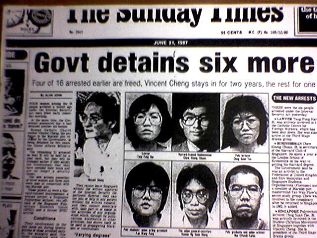 The Sunday Times, 27 May 1987 (scan via SingaporeRebel.blogspot.com)