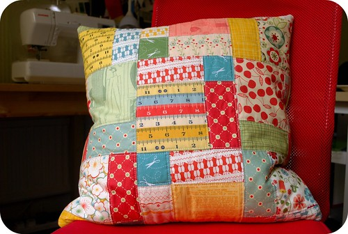 completed cosmo cushion