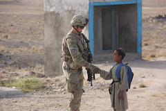 First Day of School (The U.S. Army) Tags: afghanistan af 4thinfantrydivision schoolopening shahwalikot 2ndbrigadecombatteam 5thsquadron1stcavalryregiment shahwalikotdistrict