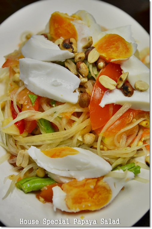 House Special Papaya Salad